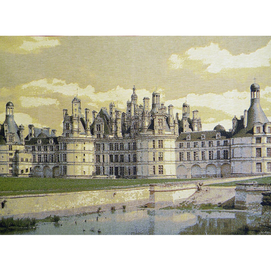 Chambord Castle II European Wall Hanging Tapestry