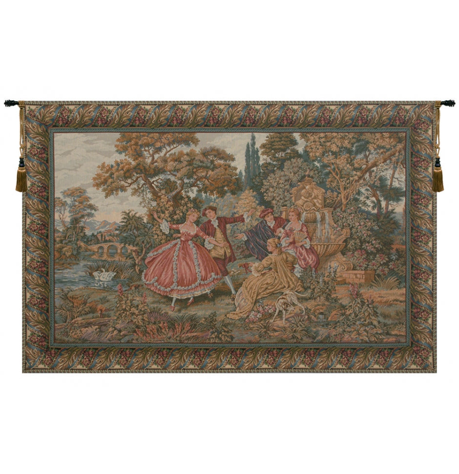 Minuetto Italian Wall Hanging Tapestry
