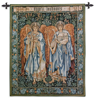 William Morris Angels Woven Wall Hanging