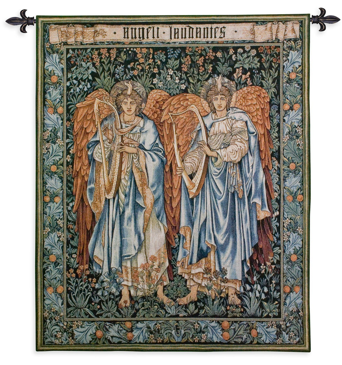 William Morris Angels Woven Wall Hangings