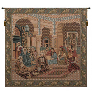 Beige Musical Wall Hanging Tapestry