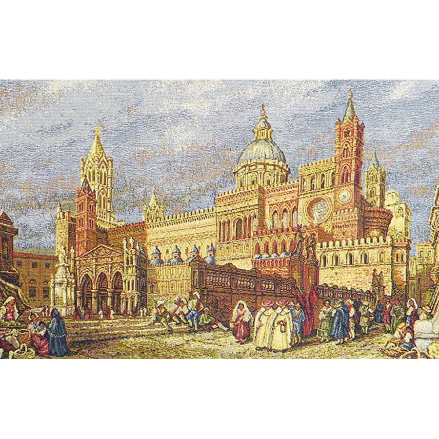 Palermo, The Cathedral Italian Wall Hanging Tapestry