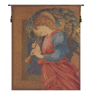 Flageolet Angel European Wall Hanging Tapestry