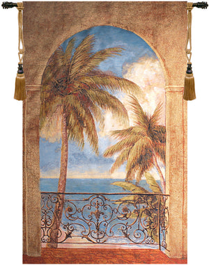 Palm Archway Decorative Wall Hanging Tapestry