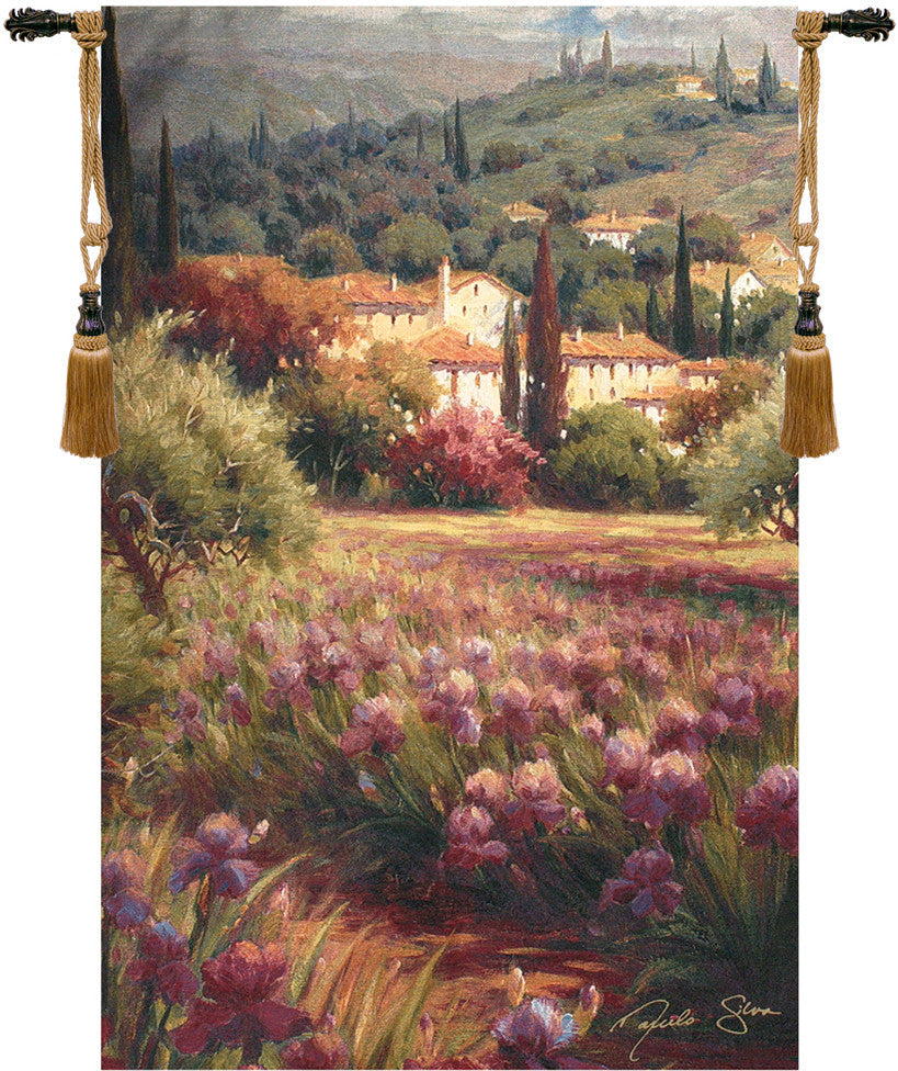 Green Country Decorative Wall Hanging Tapestry
