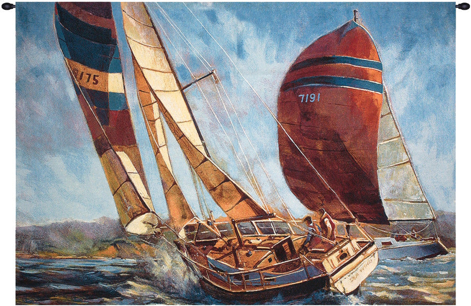 Racing the Wind Decorative Wall Hanging Tapestry
