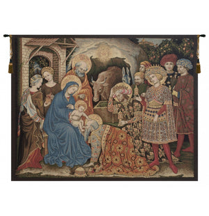 Adoration Palla Strozzi Italian Wall Hanging Tapestry