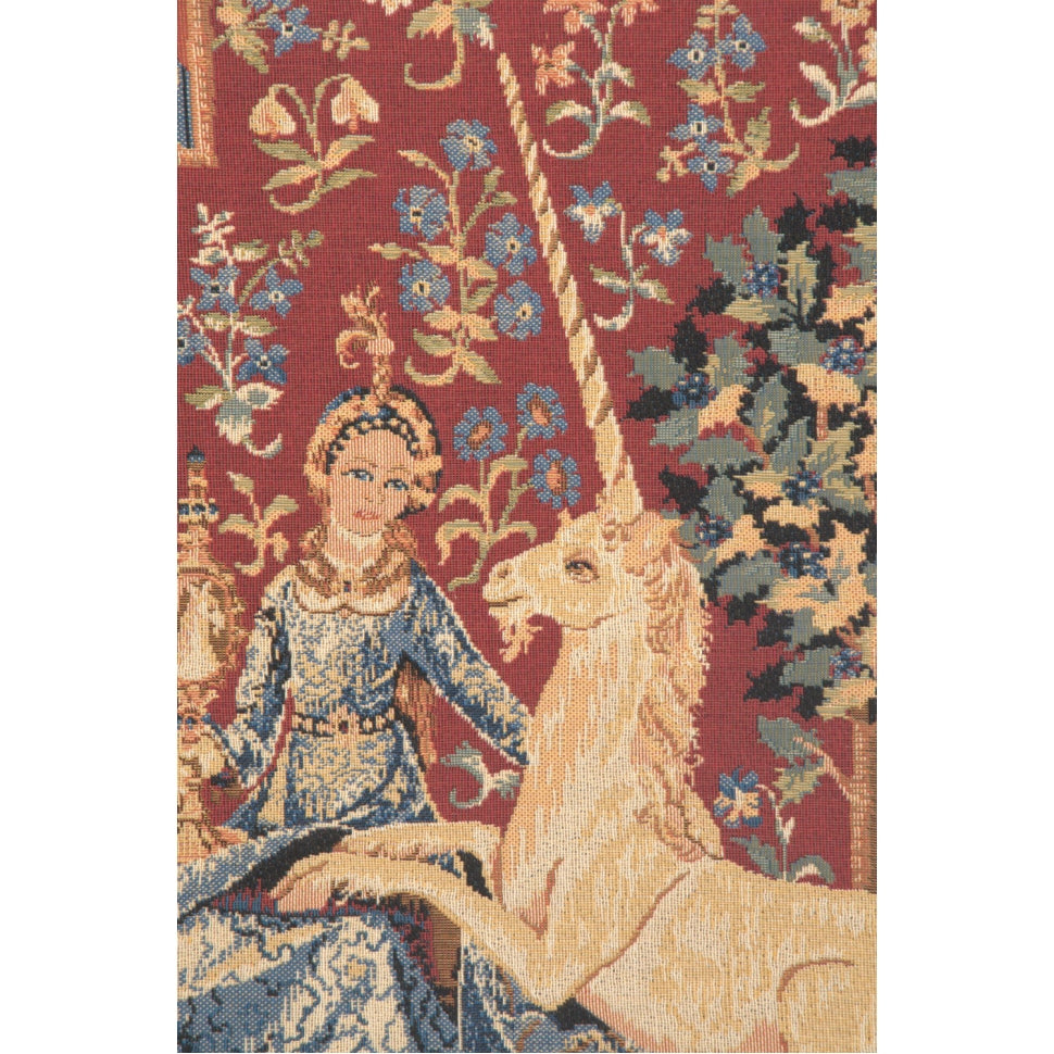 Most Popular Red Lady and The Unicorn Tapestry