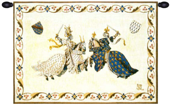 Tournoi du roi Rene French Wall Hanging Tapestry