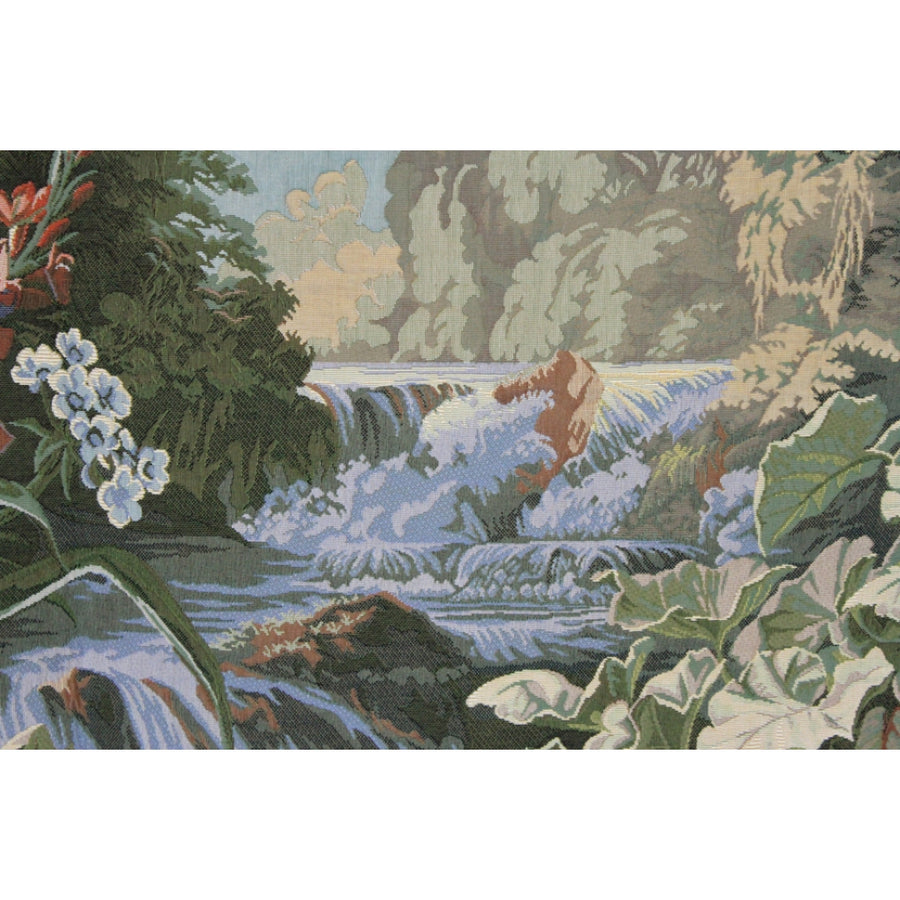 Jardin des Delices Pansu Tapestry Wall Hanging