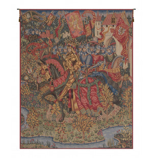 King Arthur Le Roi Arthur French Wall Hanging Tapestry