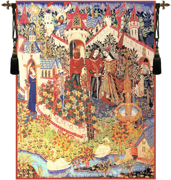 Genevieve Guenievre French Hanging Wall Tapestry