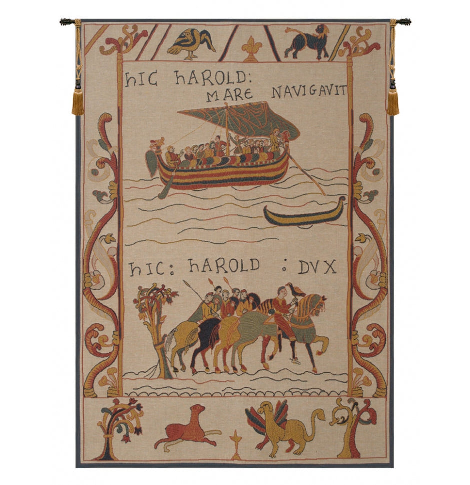 Harold and William Woven Wall Hanging