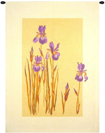 Iris des Marais French Wall Hanging Tapestry