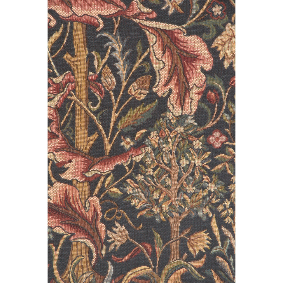 Green Acanthus French Wall Hanging Tapestry