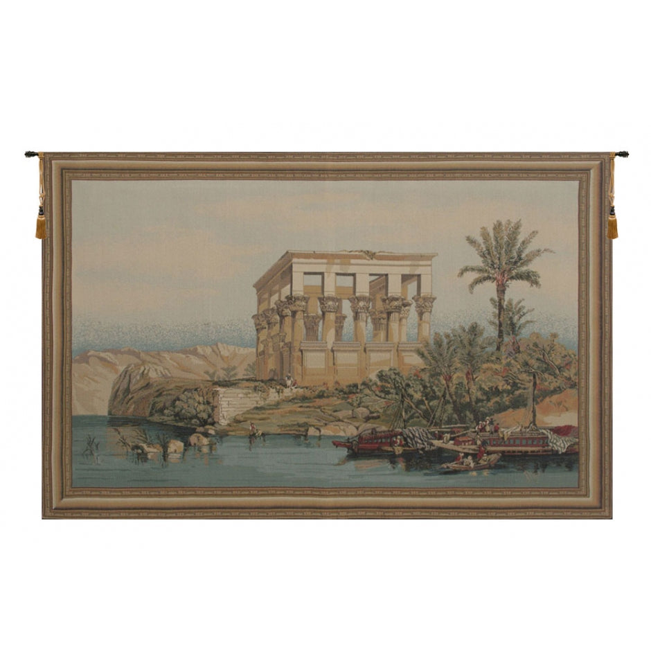 Temple of Philae Wall Hanging Tapestry