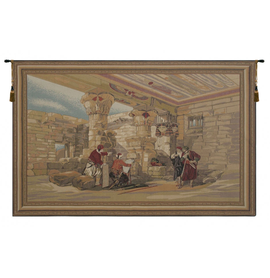 Temple of Ptolemy IV Wall Hanging Tapestry