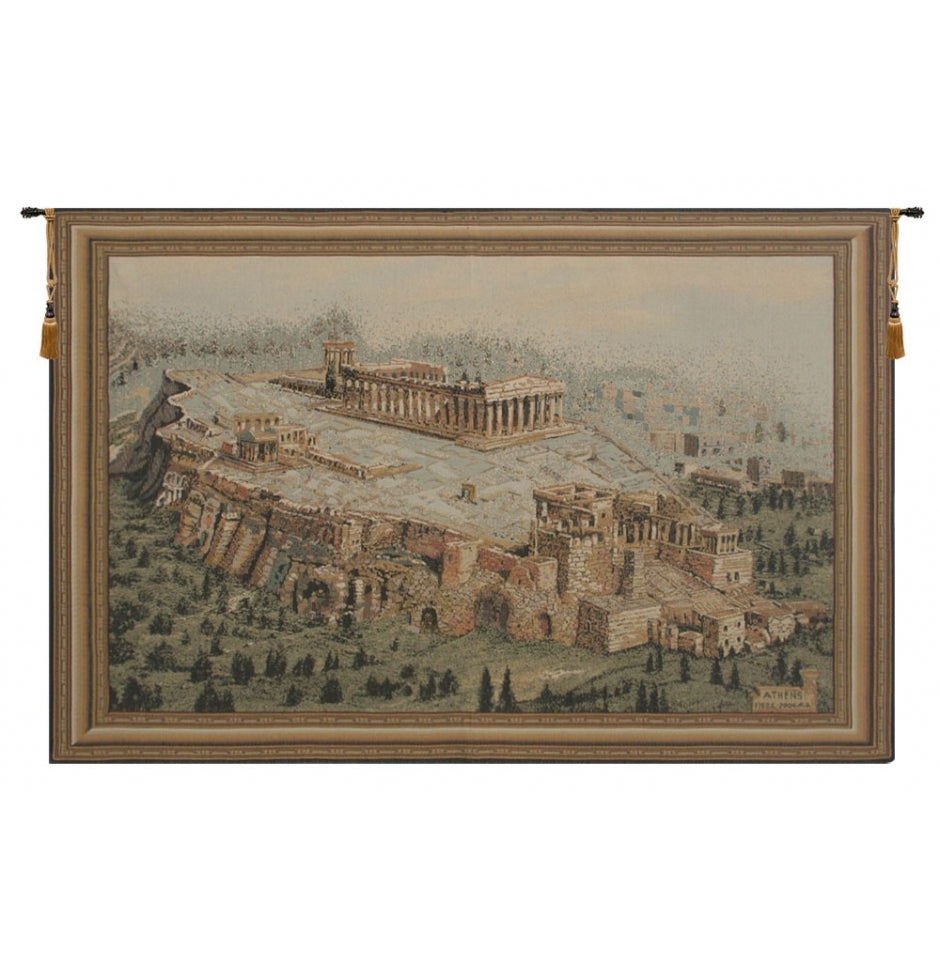 Acropolis Wall Hanging Tapestry