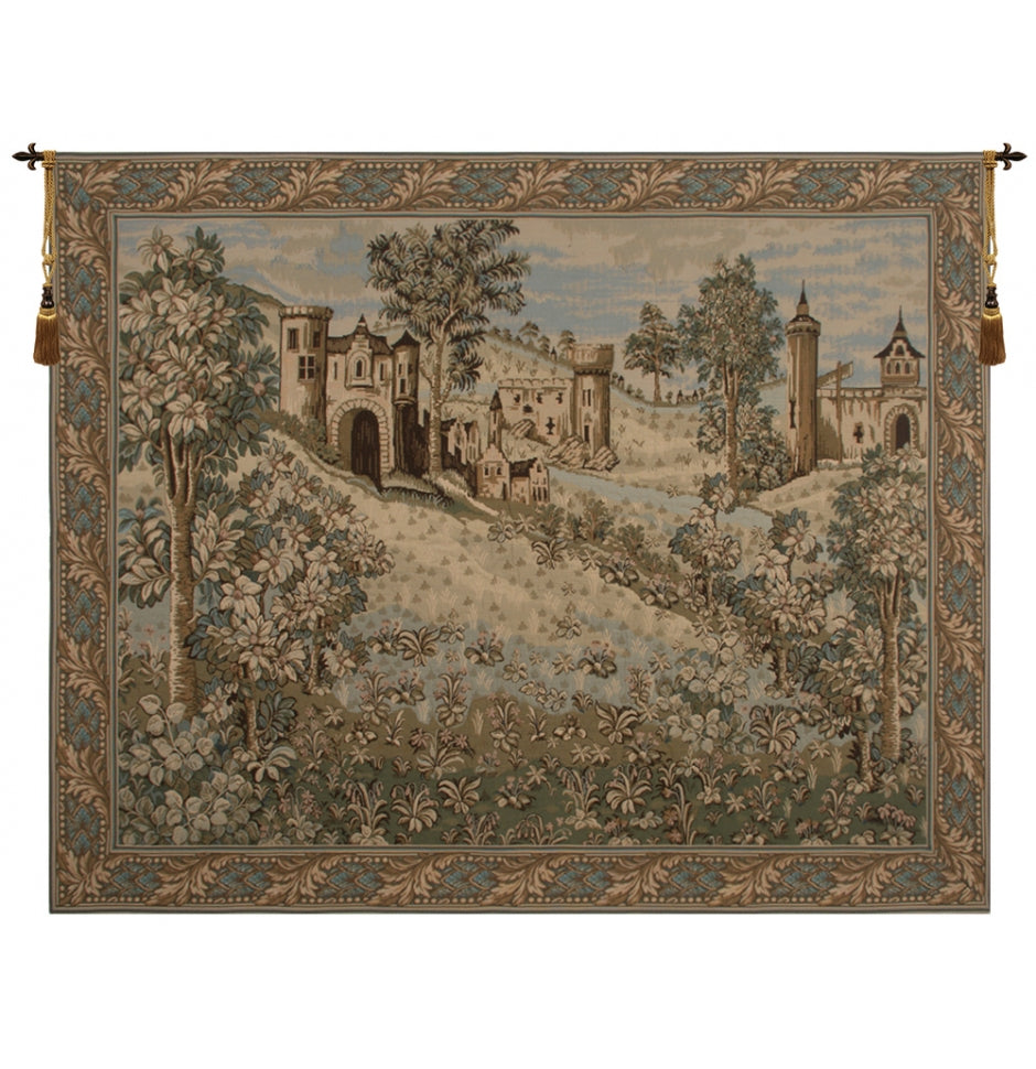 The Castle Tapestry Hanging Wall Decor