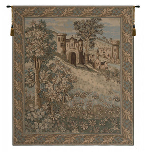 Green Castello Wall Hanging Tapestry
