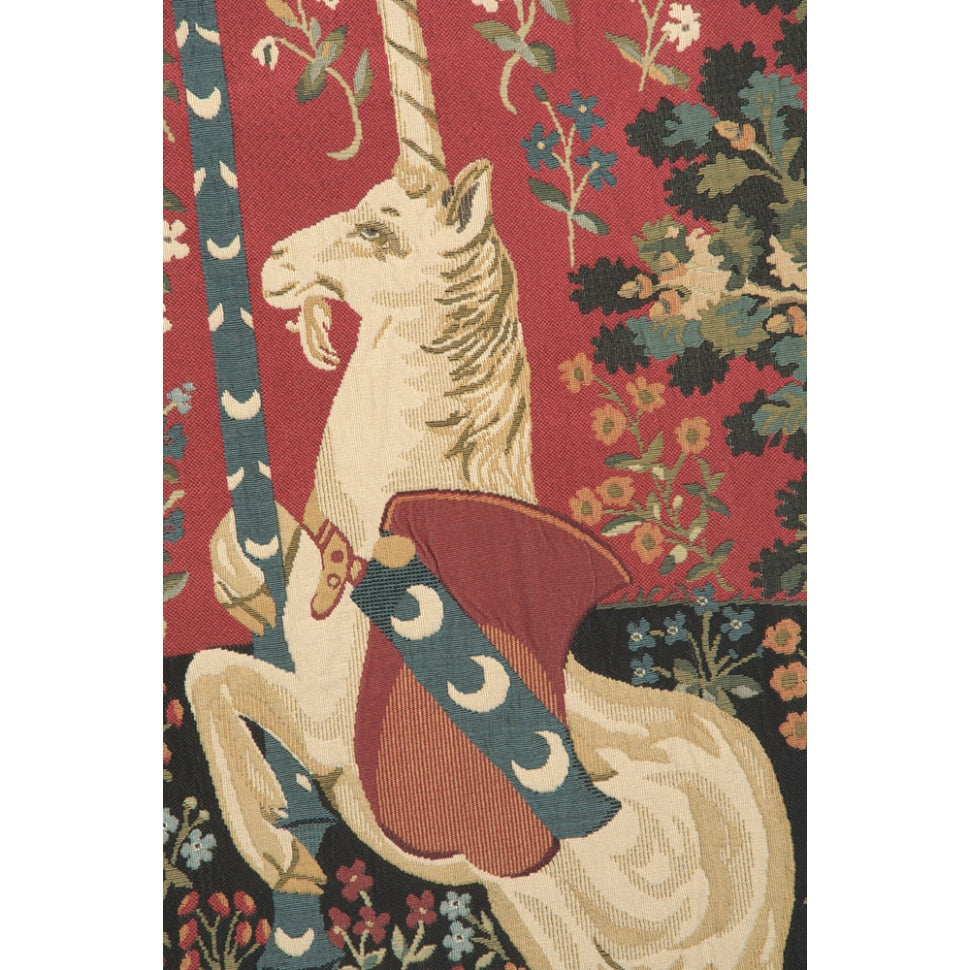 Classical Red Woven Tapestry 4 Room