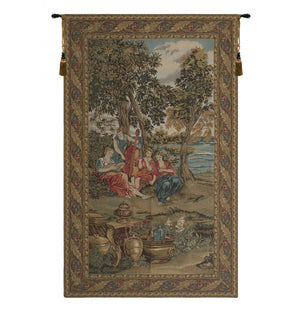 Green Concerto Wall Hanging Tapestry