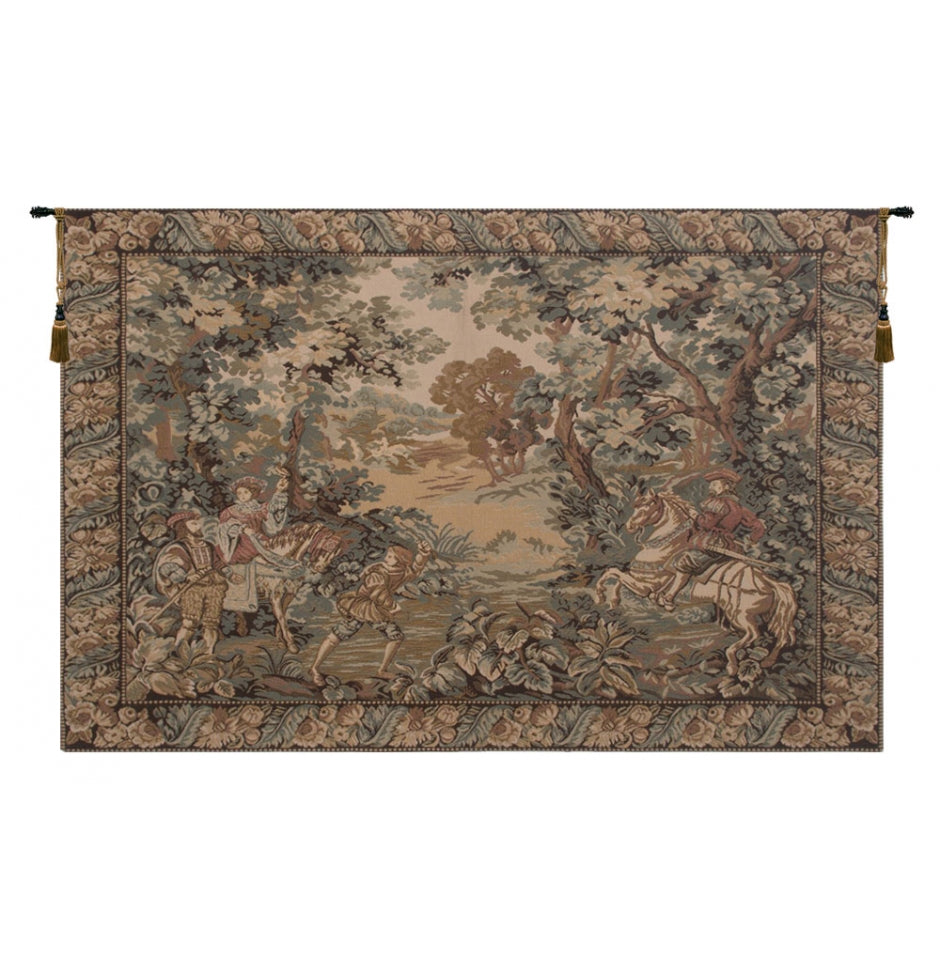 Hunting Scene Fersan Wall Hanging Tapestry