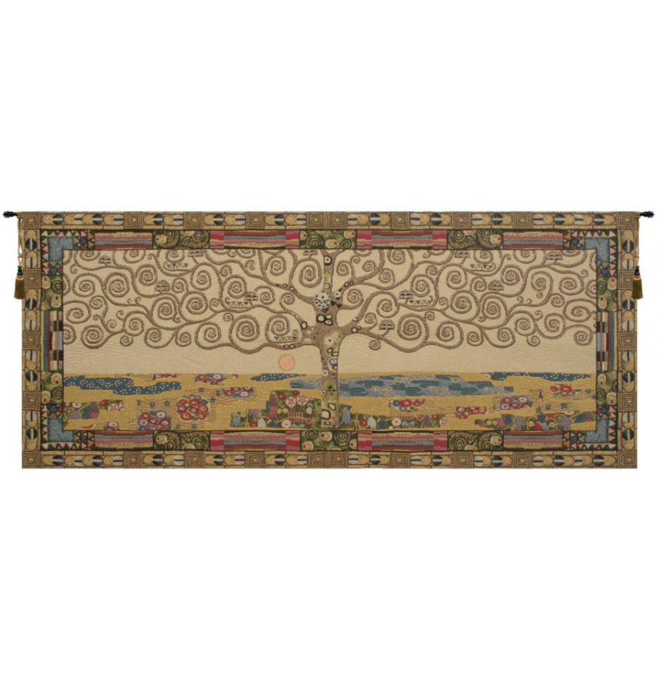 Tree of Life by Klimt I Wall Tapestry Hanging