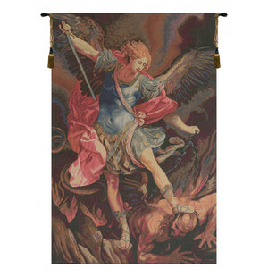 St. Michele Arcangelo Italian Wall Hanging Tapestry