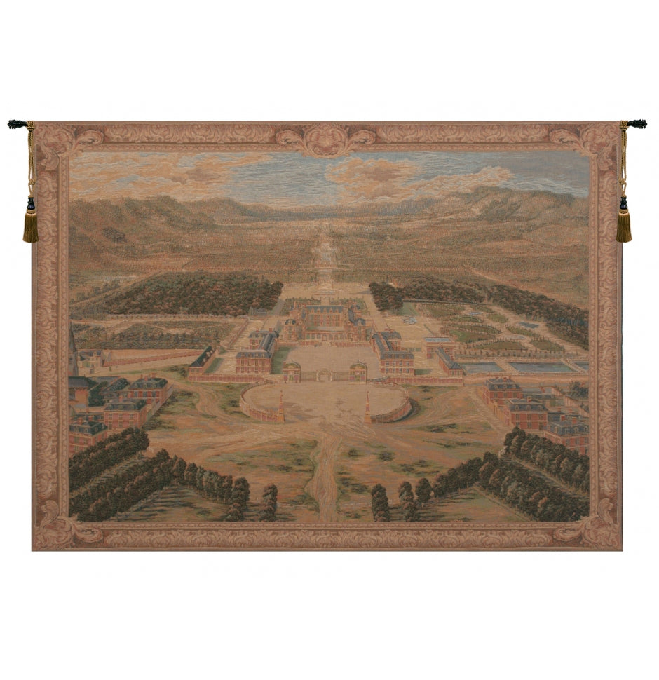 Versailles Castle XVII French Decor Wall Tapestry