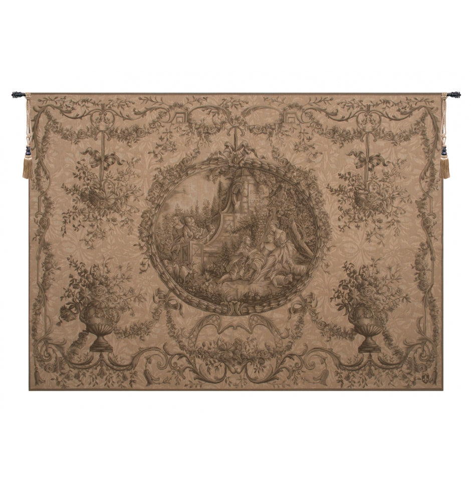 Fountaine de l'amour French Wall Tapestry