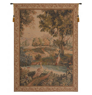 Verdure Aux Oiseaux I French Decor Wall Decor