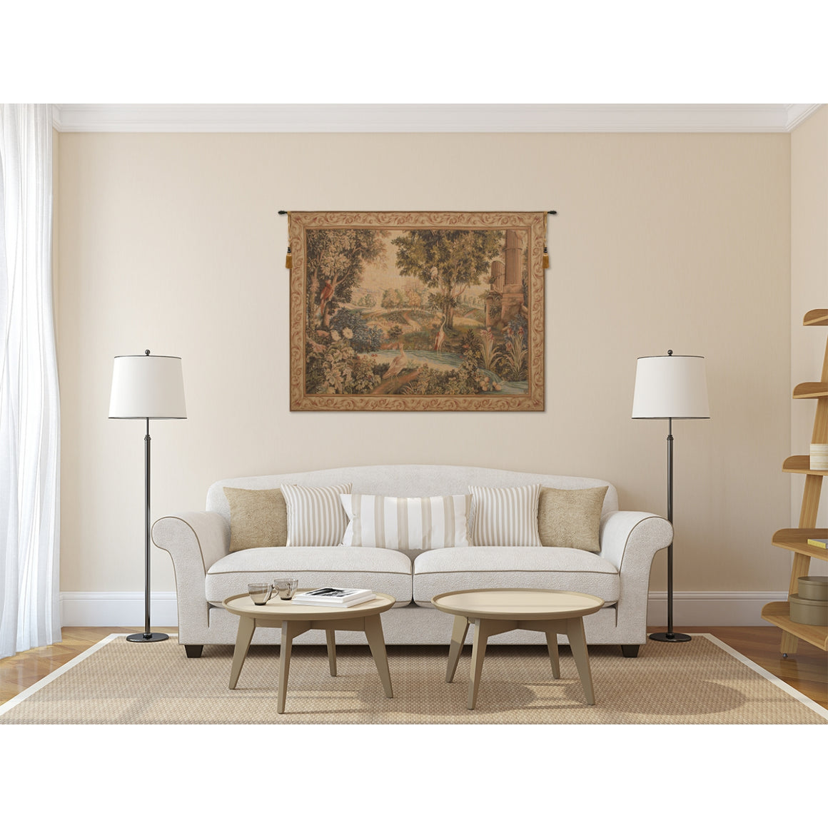 Verdure Aux Oiseaux II French Decor Wall Decor