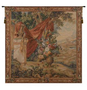 Bouquet Au Drape II French Wall Tapestry