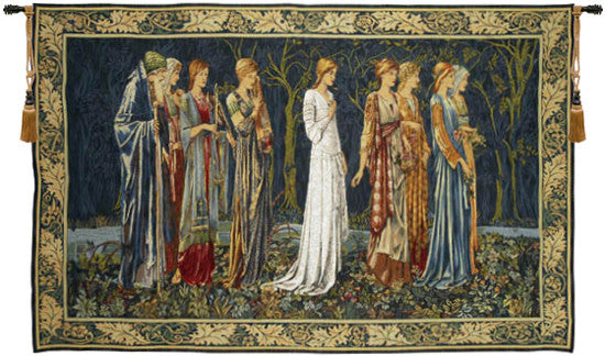 The Ceremony French Wall Hanging Tapestry