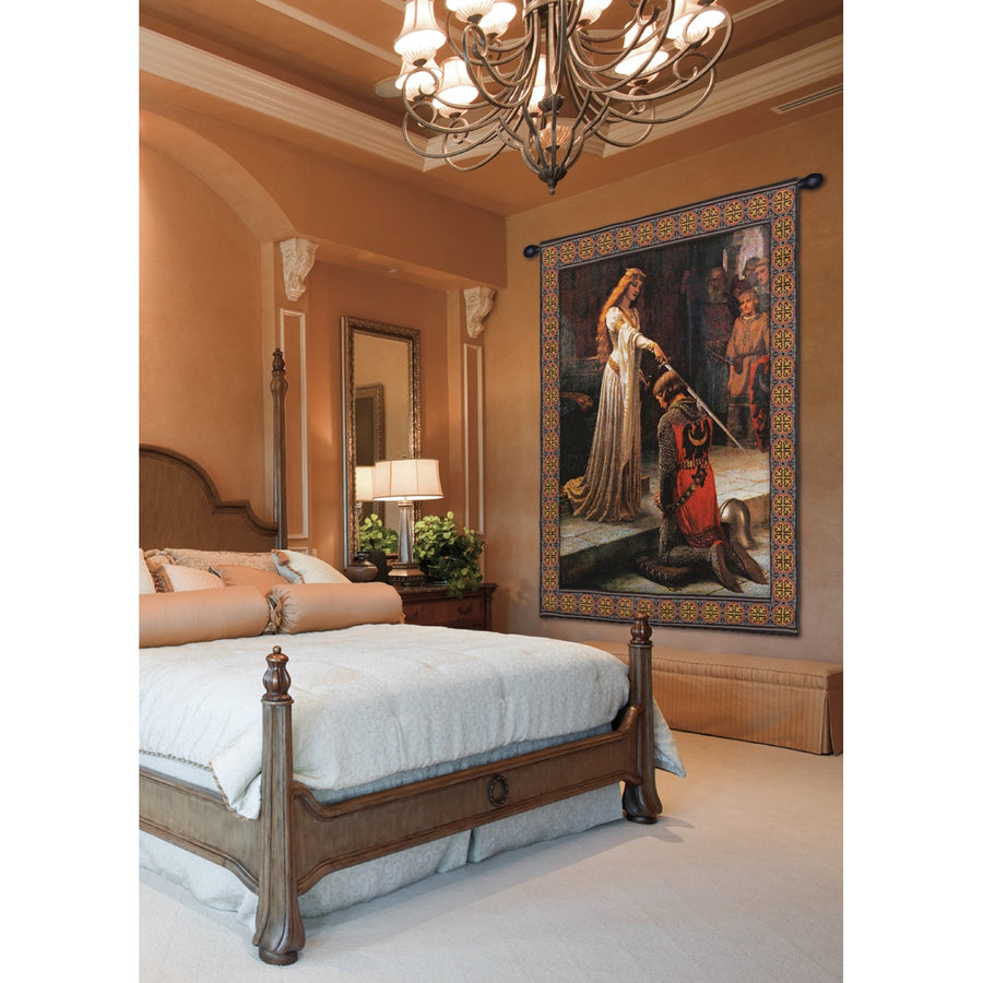 Accolade With Border European Wall Hanging Wall Tapestry
