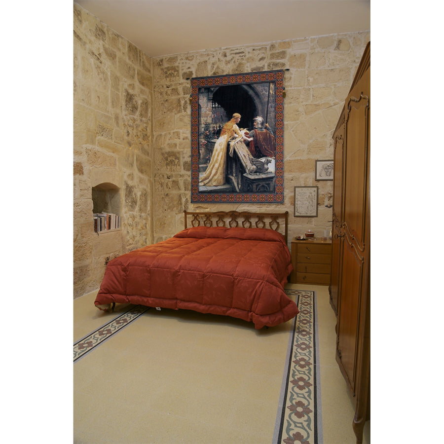 God Speed With Border European Hanging Wall Tapestry