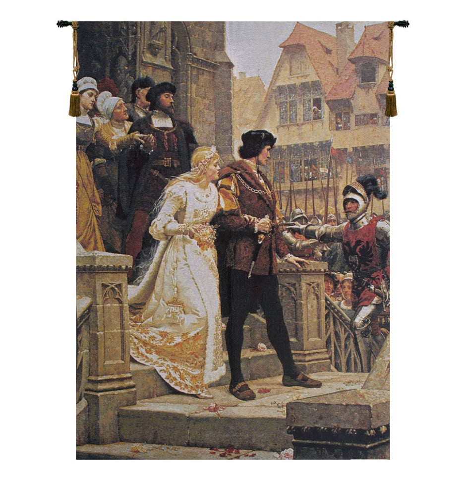 Call to Arms Without Border European Hanging Wall Tapestry