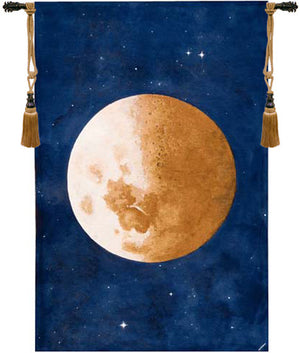 Lune Moon European Hanging Wall Tapestry