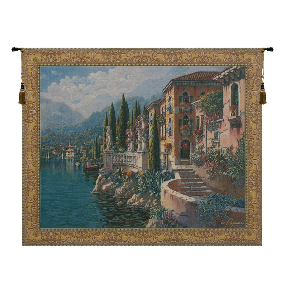 Morning Reflections Flanders European Wall Hanging Tapestry