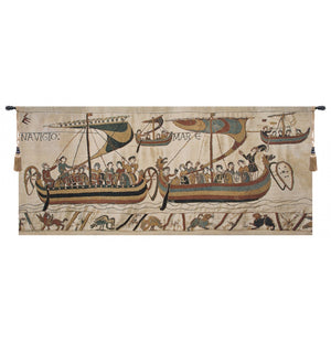 Bayeux Navigio European Hanging Wall Tapestry