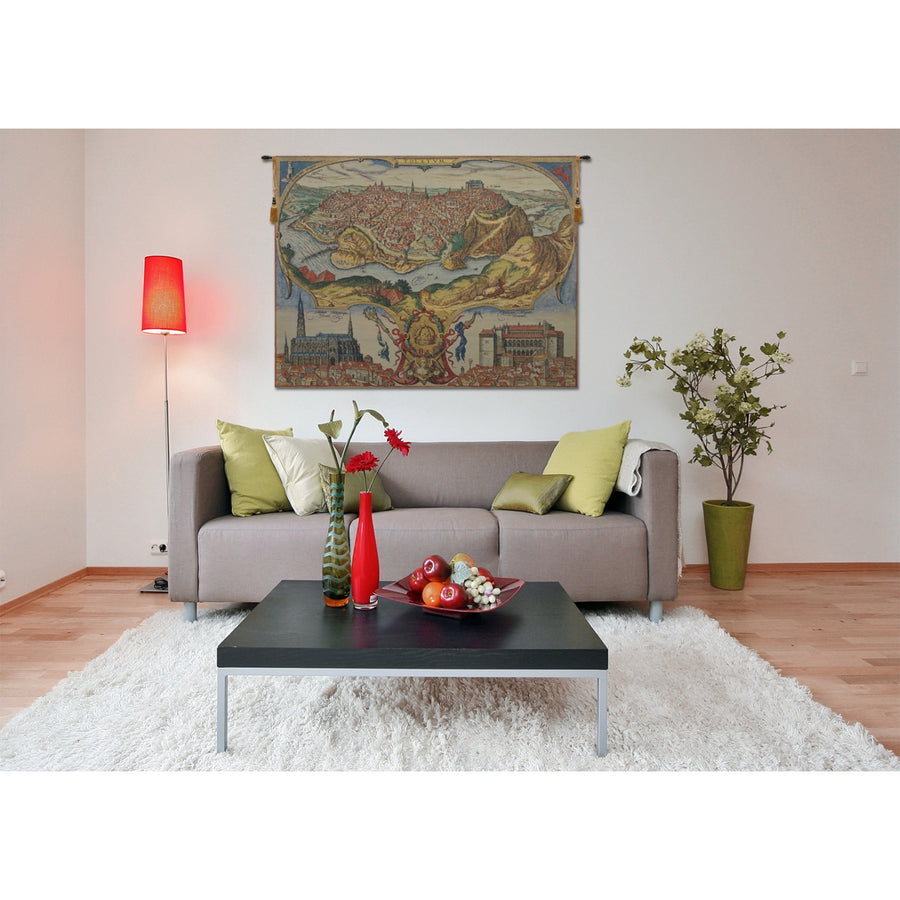 Toledo European Hanging Wall Tapestry