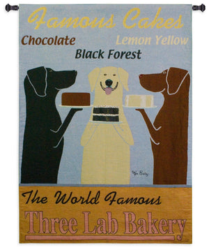 Famous Cakes Bakery Woven Tapestries