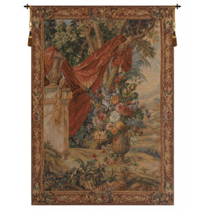 Bouquet Au Drape I French Wall Tapestry