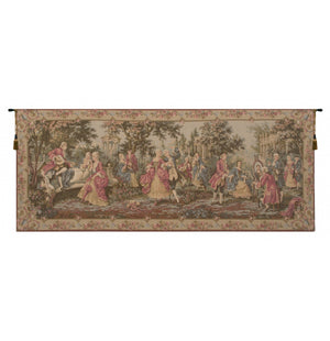 Society in the Park European Wall Hanging Tapestry