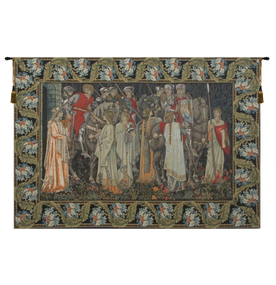 The Holy Grail European Hanging Wall Tapestry