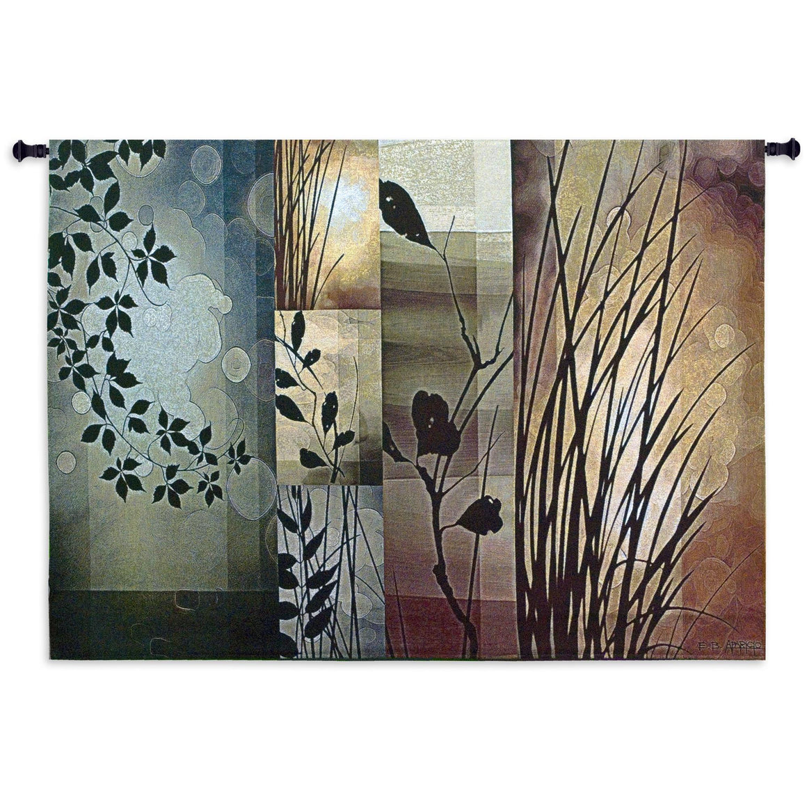 fall autumn seasons wall tapestry leaves