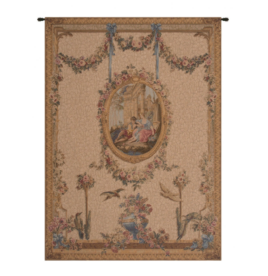 Serenade Creme French Decor Wall Tapestry