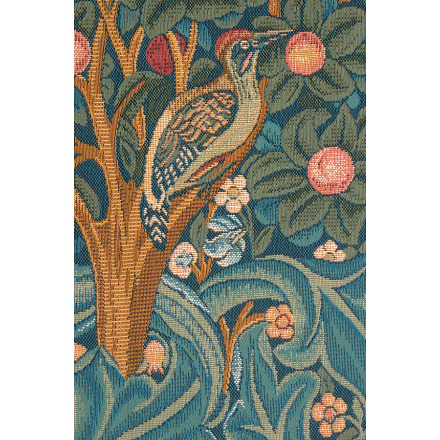 Woodpecker with Verse French Decor Wall Hanging