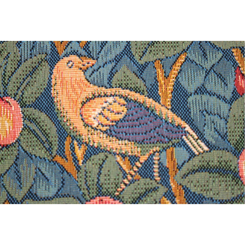 Green Woodpecker Medieval Cotton Wall Hanging